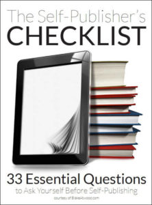 The Self-Publisher's Checklist by Blake Atwood
